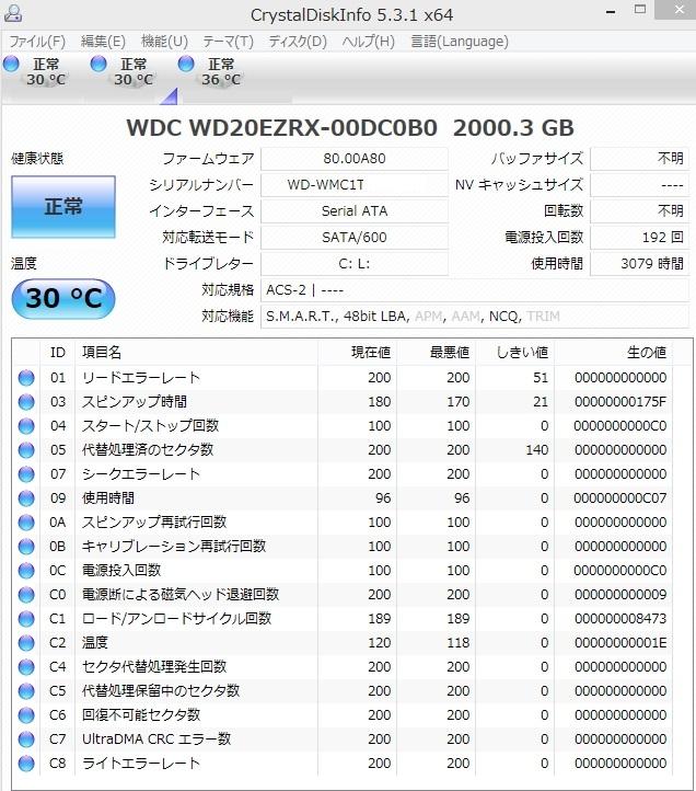 パソコンの寿命を調べる方法(ハードディスクの寿命・HDDの寿命)