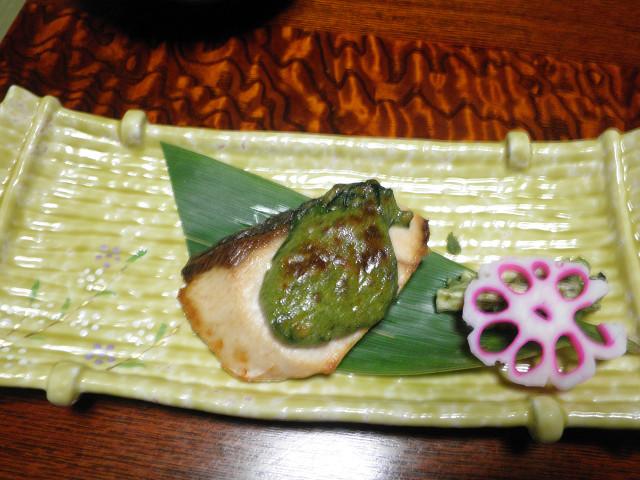 磯波風イソップ夕食 (2)