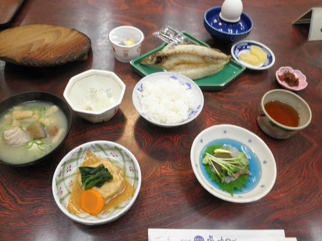 磯波風イソップ朝食2
