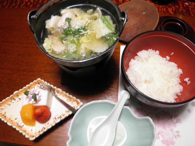 磯波風イソップ朝食