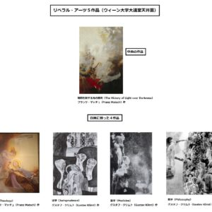 見るだけで分かる!世界の基本リベラル・アーツ学問体系5つの絵画
