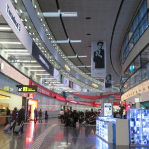 オーストリアのウィーン国際空港から出国する方法