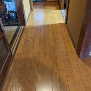 1万円台でフローリング廊下リフォーム住宅改修できて助かった方法(介護保険制度)