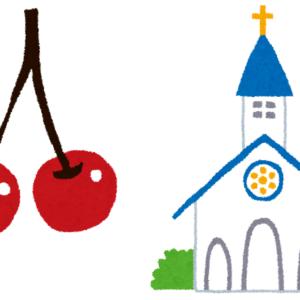 教会とさくらんぼのハイパーコレクション(過剰修正)